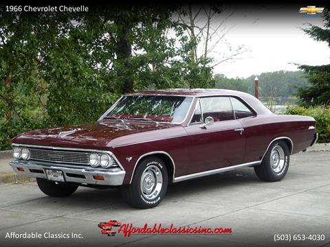 Used 1966 Chevrolet Chevelle For Sale Carsforsale Com