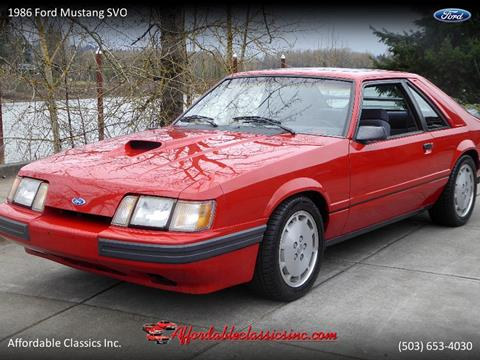 1986 Ford Mustang for sale in Gladstone, OR