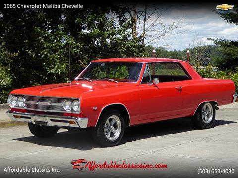 1965 Chevrolet Malibu for sale in Gladstone, OR