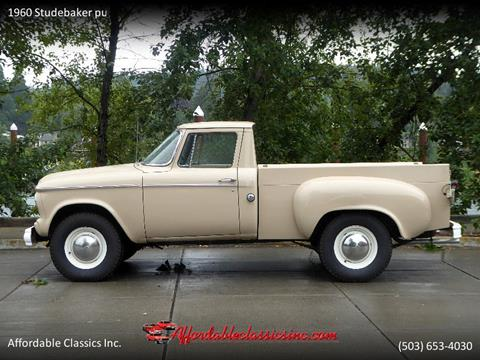 1960 Studebaker pu for sale in Gladstone, OR