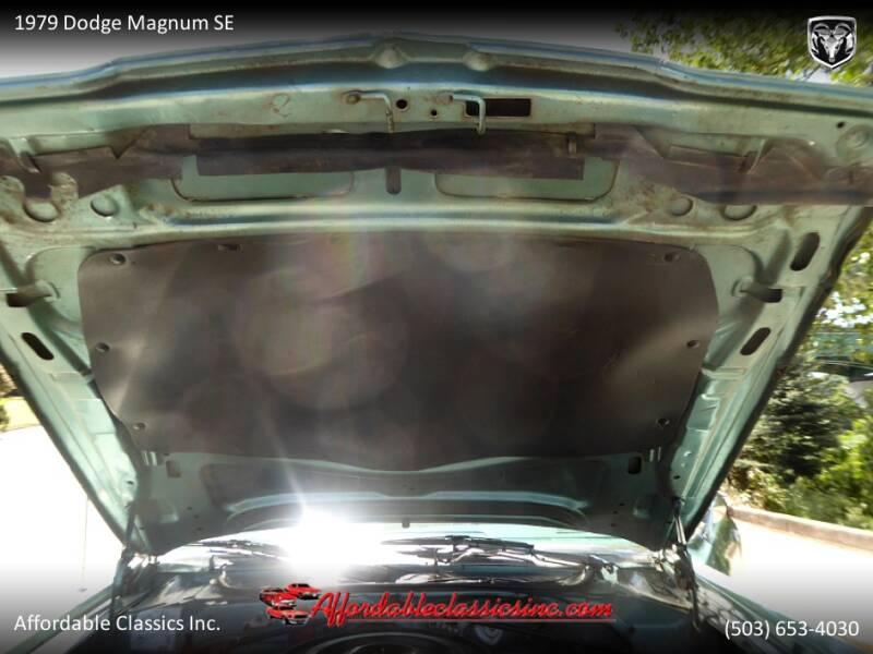 1979 Dodge Magnum SE 54