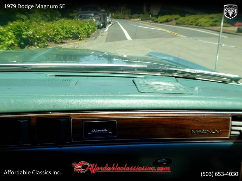 1979 Dodge Magnum SE 36