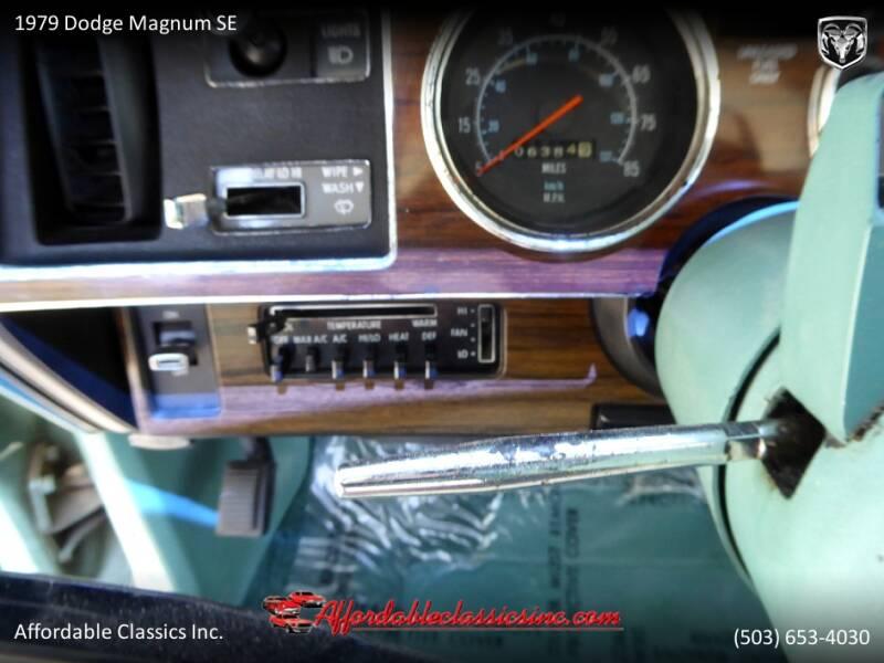 1979 Dodge Magnum SE 27