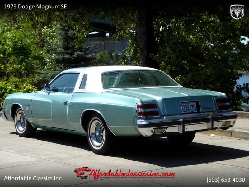 1979 Dodge Magnum SE 3