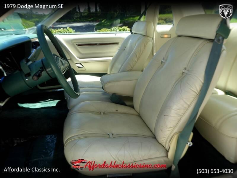 1979 Dodge Magnum SE 21