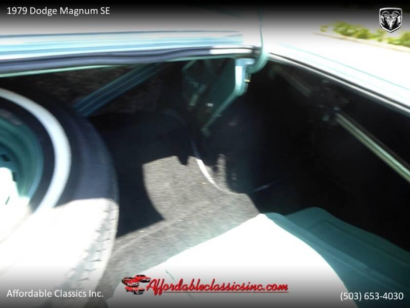 1979 Dodge Magnum SE 48