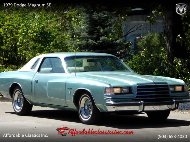 1979 Dodge Magnum SE 9