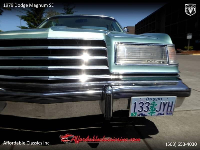 1979 Dodge Magnum SE 11