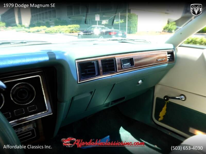 1979 Dodge Magnum SE 29