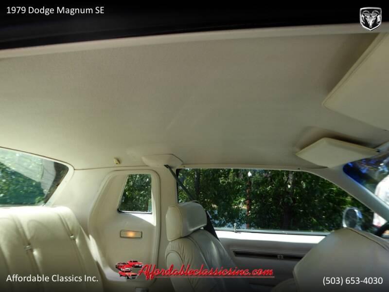 1979 Dodge Magnum SE 41
