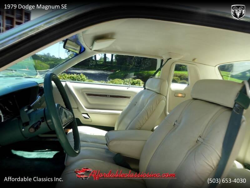 1979 Dodge Magnum SE 22