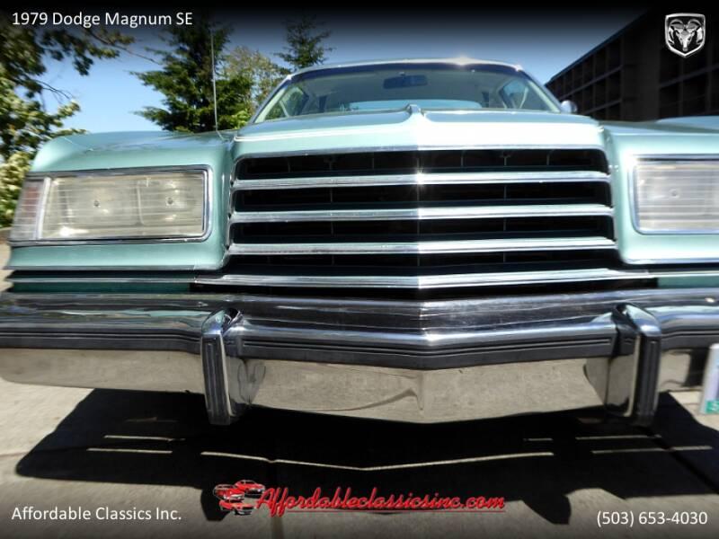 1979 Dodge Magnum SE 12