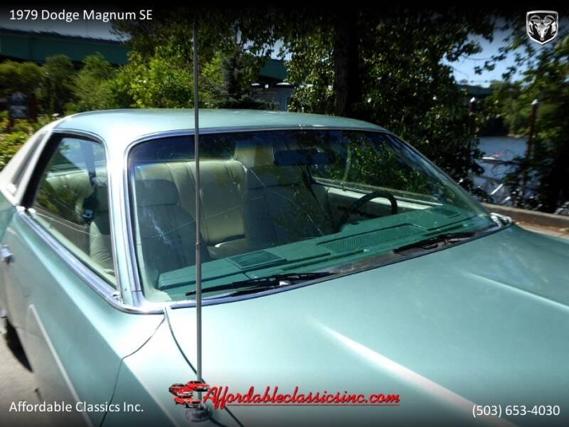1979 Dodge Magnum SE 17