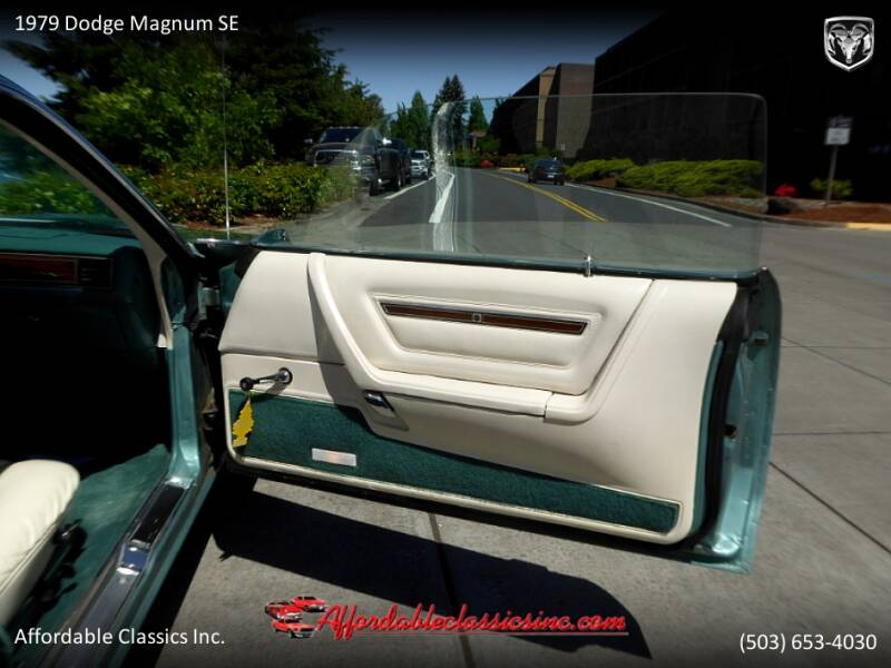 1979 Dodge Magnum SE 31