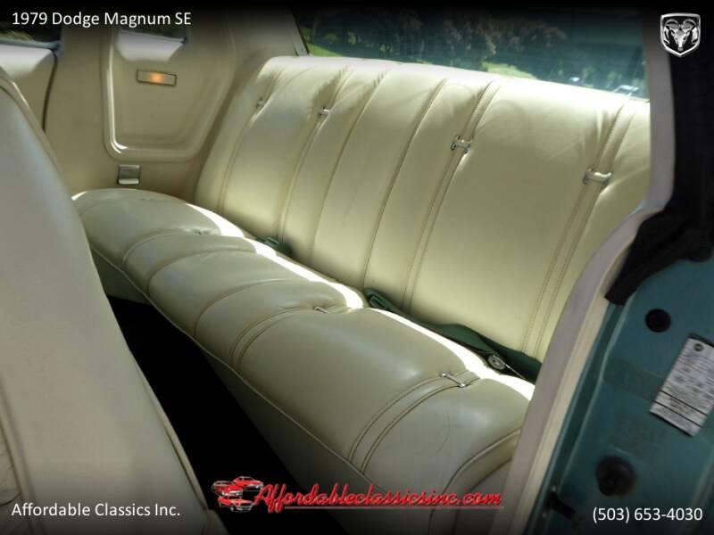 1979 Dodge Magnum SE 42