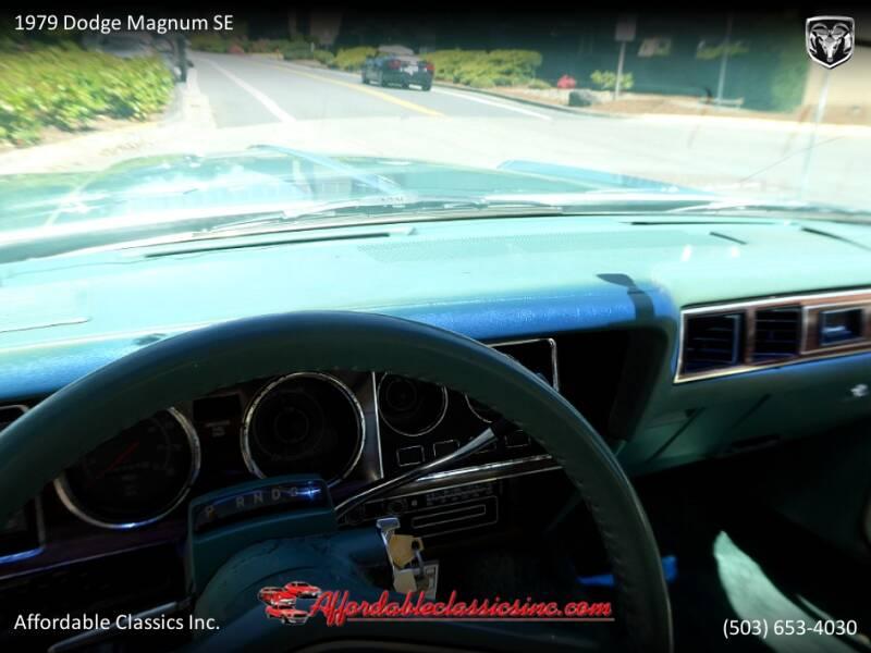 1979 Dodge Magnum SE 30