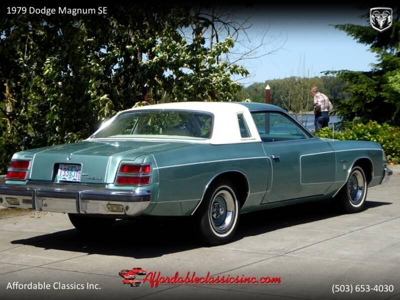 1979 Dodge Magnum SE 7