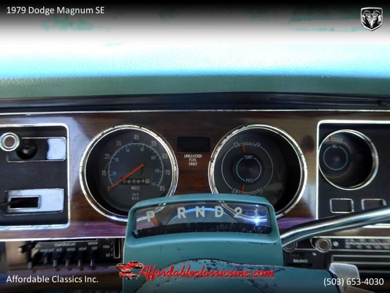 1979 Dodge Magnum SE 24