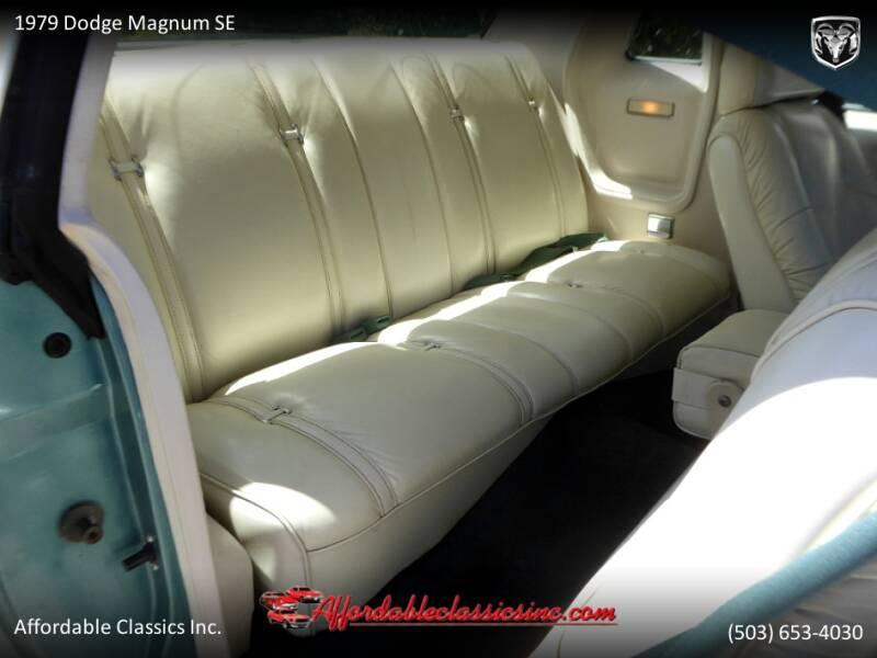 1979 Dodge Magnum SE 39