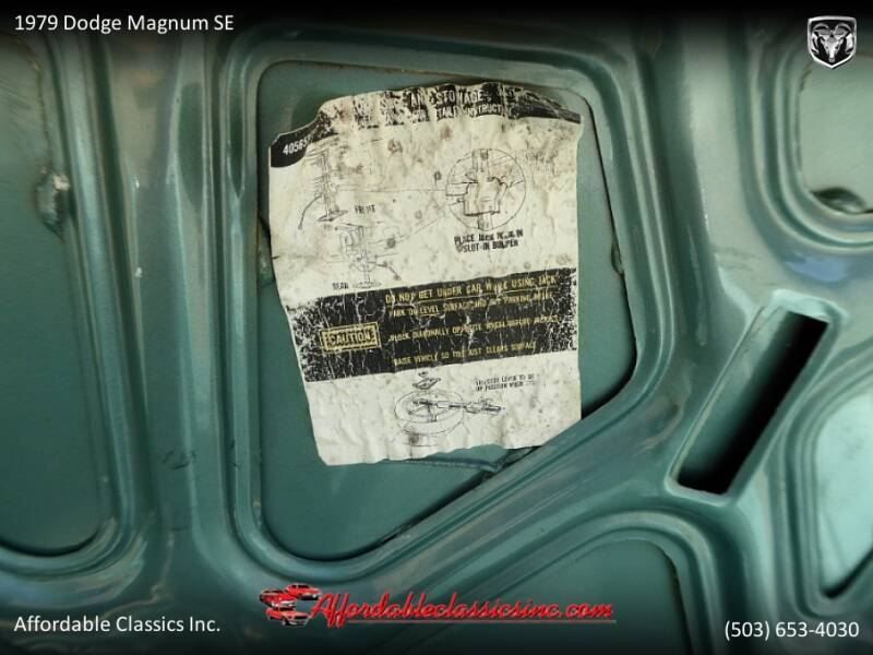 1979 Dodge Magnum SE 52