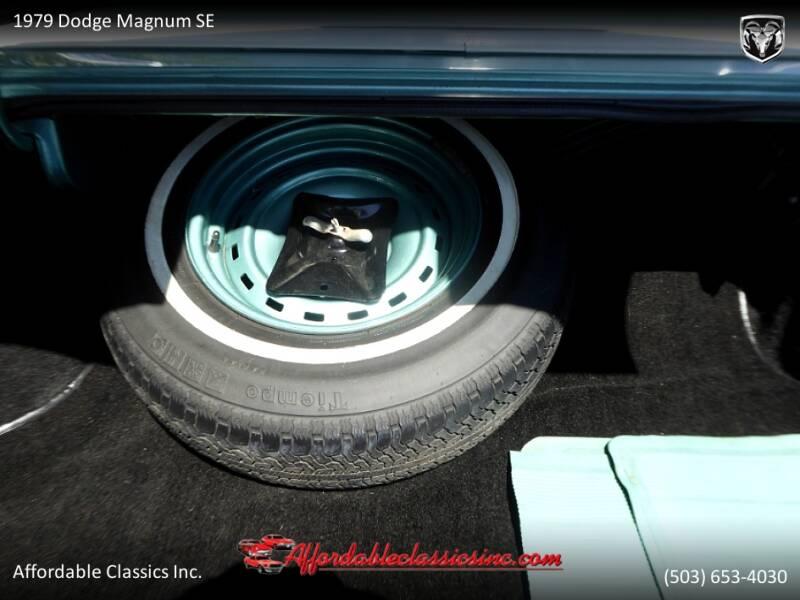 1979 Dodge Magnum SE 50