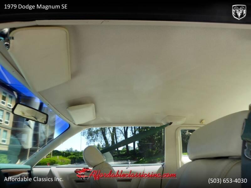 1979 Dodge Magnum SE 44