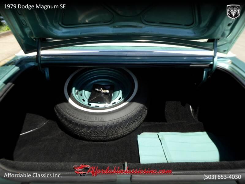 1979 Dodge Magnum SE 47
