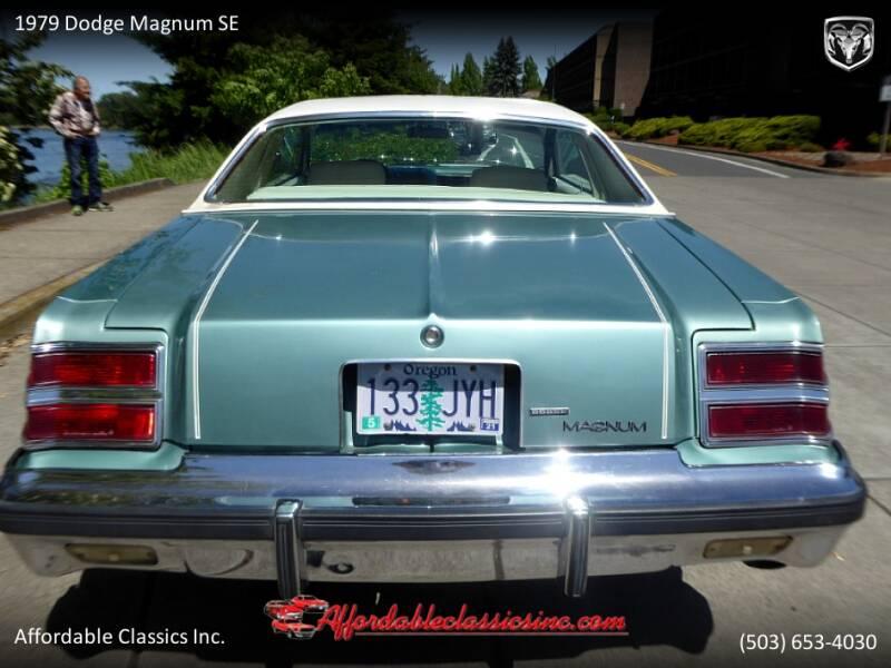 1979 Dodge Magnum SE 4