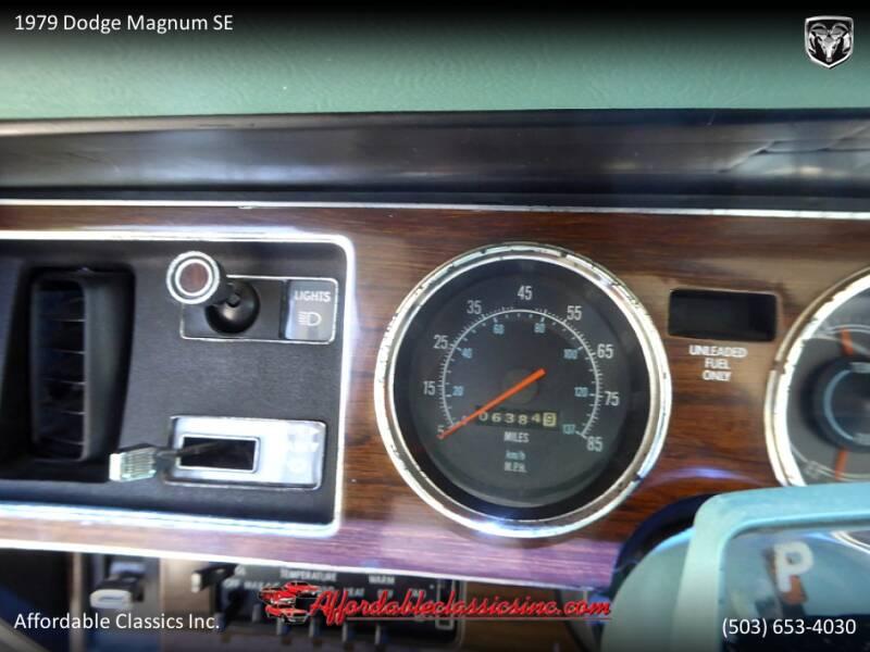 1979 Dodge Magnum SE 25