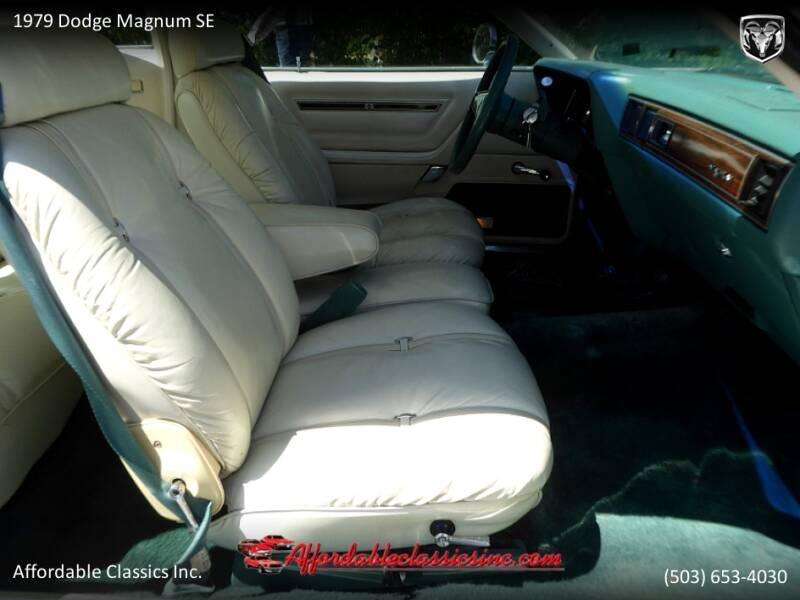1979 Dodge Magnum SE 34