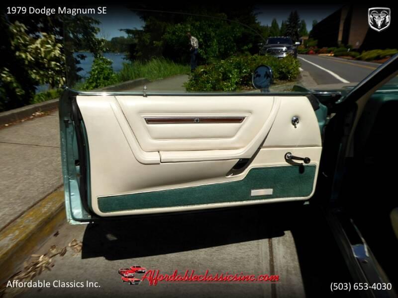 1979 Dodge Magnum SE 18