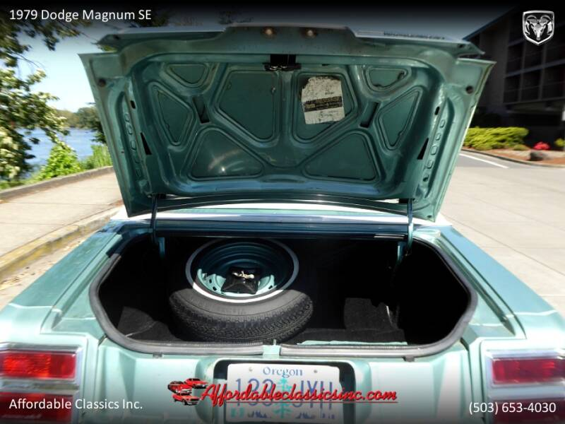 1979 Dodge Magnum SE 45