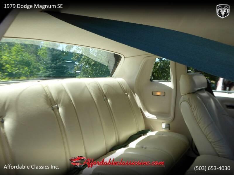 1979 Dodge Magnum SE 40