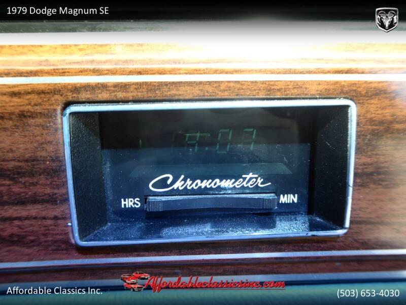 1979 Dodge Magnum SE 37