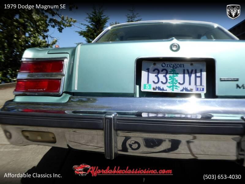1979 Dodge Magnum SE 6