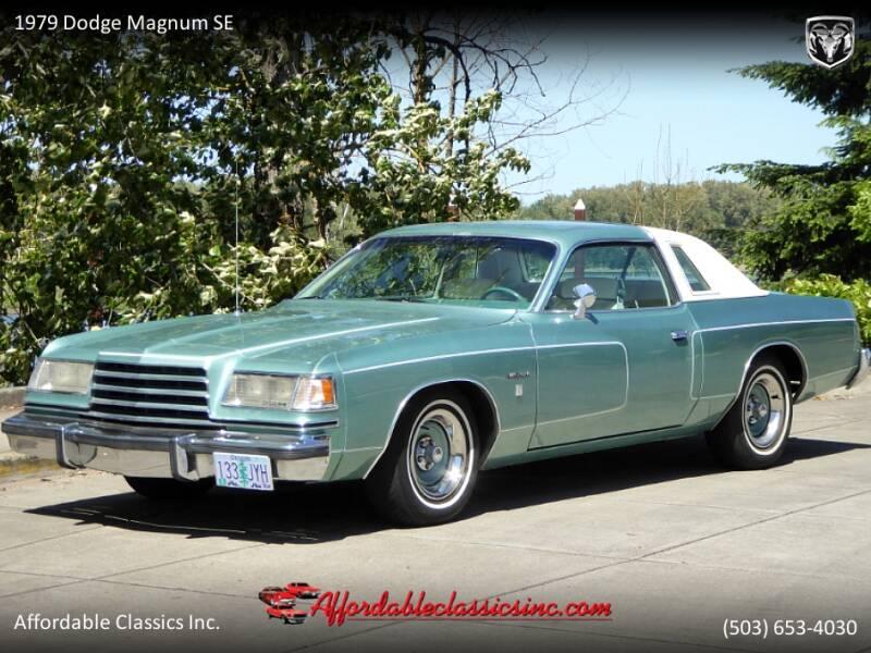 1979 Dodge Magnum SE 1