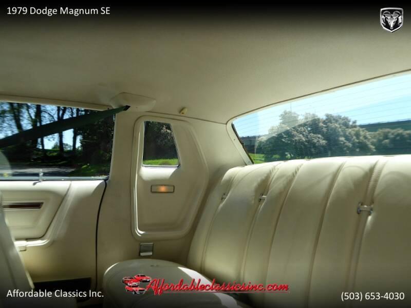 1979 Dodge Magnum SE 43
