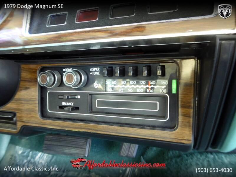 1979 Dodge Magnum SE 38