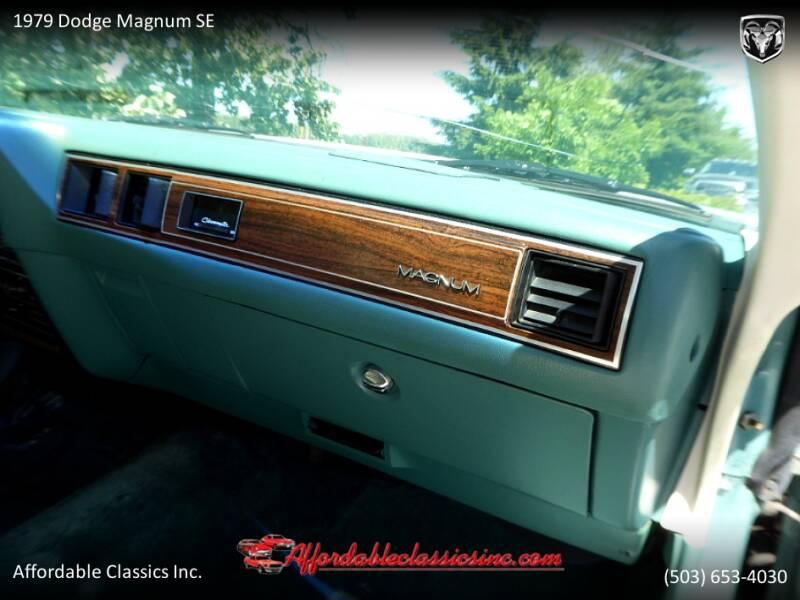 1979 Dodge Magnum SE 35