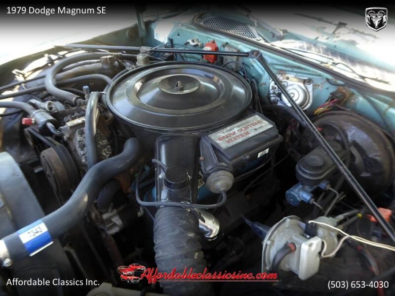 1979 Dodge Magnum SE 55