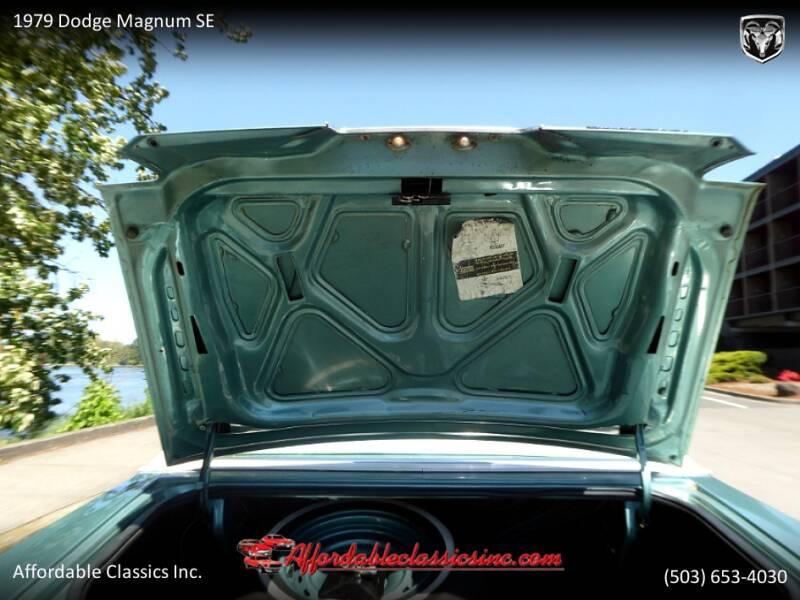 1979 Dodge Magnum SE 46