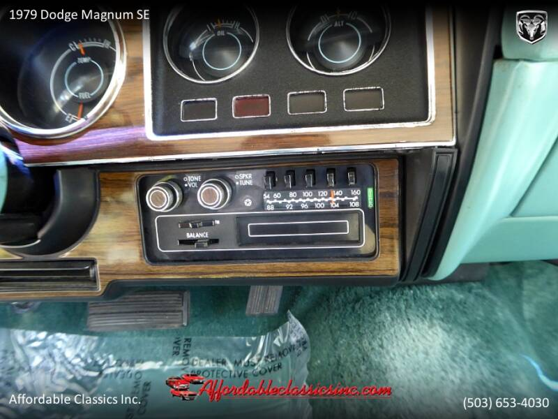 1979 Dodge Magnum SE 28