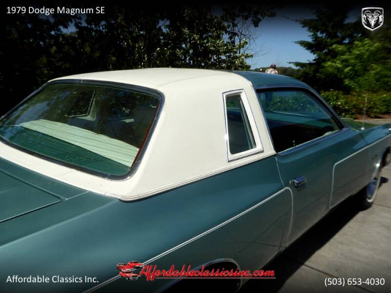1979 Dodge Magnum SE 14