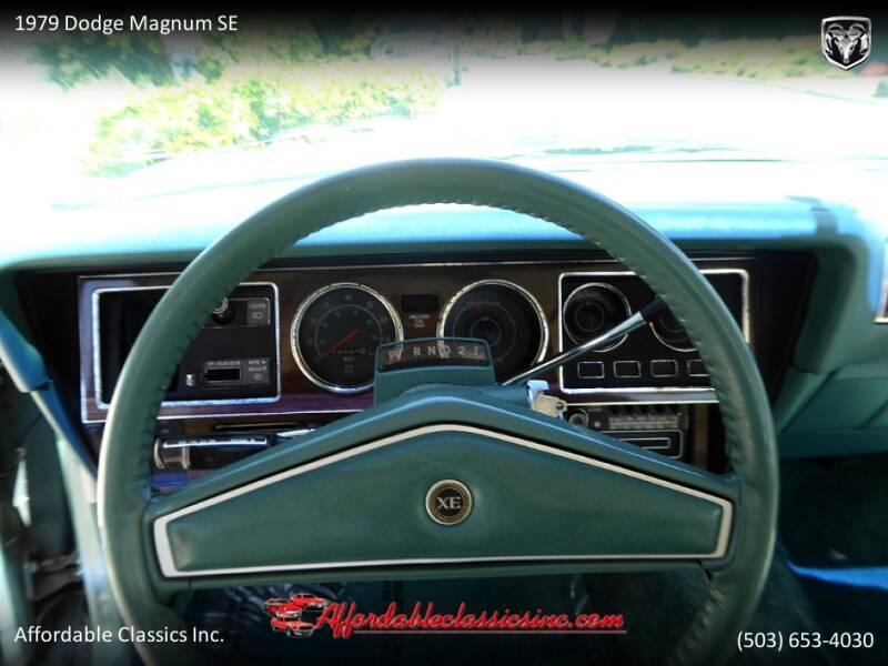 1979 Dodge Magnum SE 23