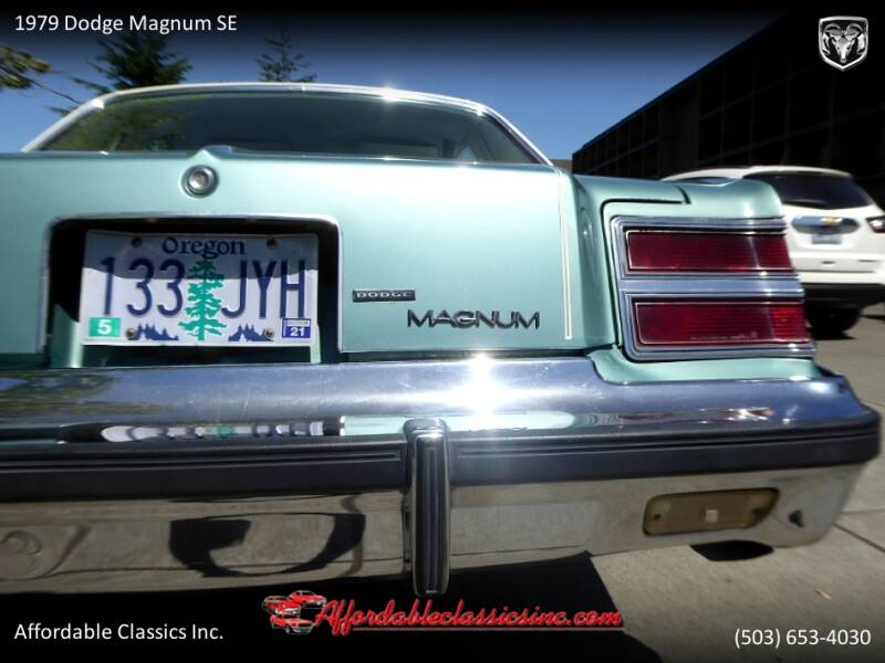 1979 Dodge Magnum SE 5
