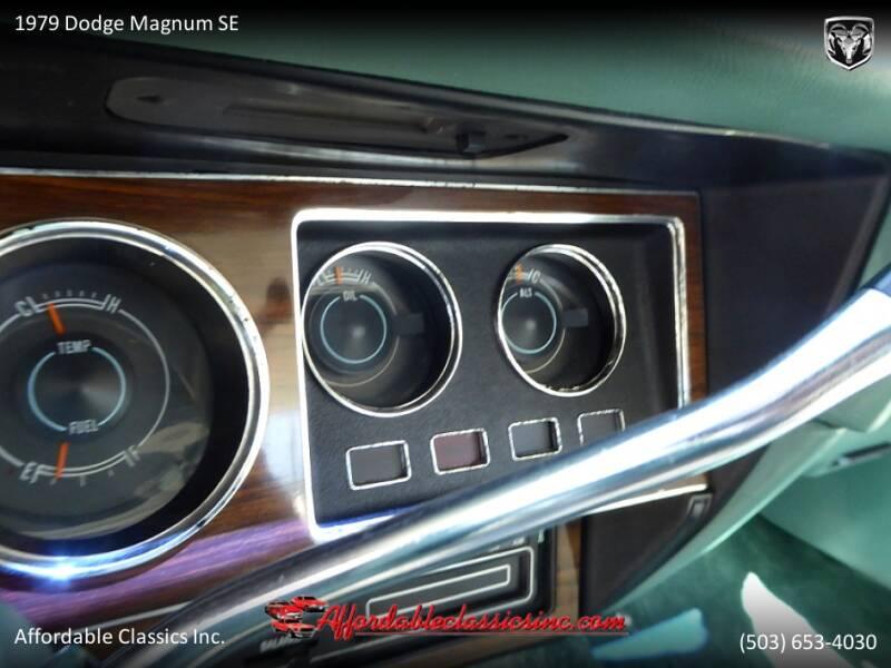 1979 Dodge Magnum SE 26