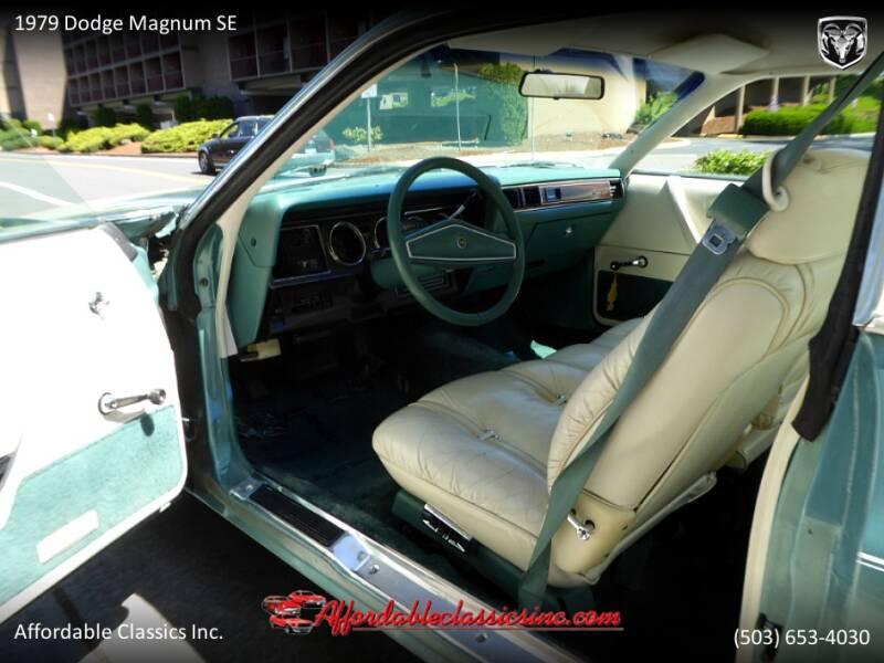 1979 Dodge Magnum SE 19