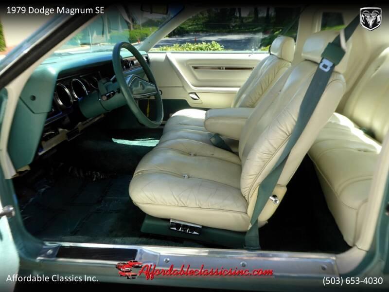 1979 Dodge Magnum SE 20