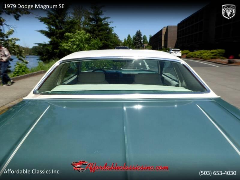 1979 Dodge Magnum SE 13