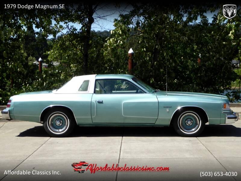 1979 Dodge Magnum SE 8